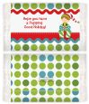 Santa's Little Elf - Personalized Popcorn Wrapper Christmas Favors thumbnail