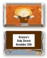 Scarecrow Fall Theme - Personalized Baby Shower Mini Candy Bar Wrappers thumbnail