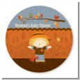 Scarecrow Fall Theme - Personalized Baby Shower Table Confetti thumbnail
