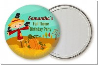 Scarecrow - Personalized Birthday Party Pocket Mirror Favors