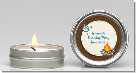 Scavenger Hunt - Birthday Party Candle Favors