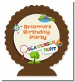 Scavenger Hunt - Personalized Birthday Party Centerpiece Stand thumbnail