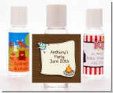 Scavenger Hunt - Personalized Birthday Party Hand Sanitizers Favors