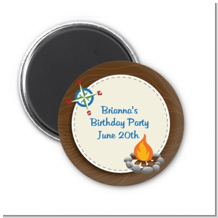 Scavenger Hunt - Personalized Birthday Party Magnet Favors