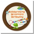Scavenger Hunt - Personalized Birthday Party Table Confetti thumbnail
