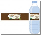 Scavenger Hunt - Personalized Birthday Party Water Bottle Labels