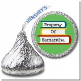 School Books - Hershey Kiss School Sticker Labels