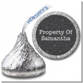 School Chalkboard - Hershey Kiss School Sticker Labels