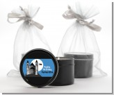 School of Wizardry - Birthday Party Black Candle Tin Favors