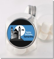 School of Wizardry - Personalized Birthday Party Candy Jar