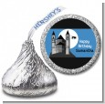 School of Wizardry - Hershey Kiss Birthday Party Sticker Labels thumbnail