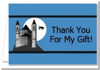 School of Wizardry - Birthday Party Thank You Cards