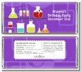Science Lab - Personalized Birthday Party Candy Bar Wrappers thumbnail