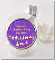 Science Lab - Personalized Birthday Party Candy Jar
