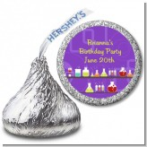 Science Lab - Hershey Kiss Birthday Party Sticker Labels
