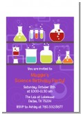 Science Lab - Birthday Party Petite Invitations