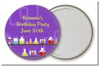 Science Lab - Personalized Birthday Party Pocket Mirror Favors