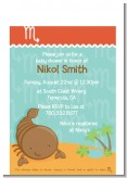 Scorpion | Scorpio Horoscope - Baby Shower Petite Invitations