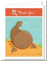 Scorpion | Scorpio Horoscope - Baby Shower Thank You Cards