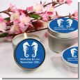 Sea Horses - Bridal | Wedding Candle Favors thumbnail