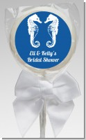 Sea Horses - Personalized Bridal Shower Lollipop Favors