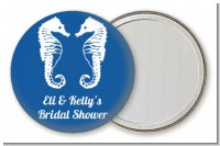 Sea Horses - Personalized Bridal Shower Pocket Mirror Favors