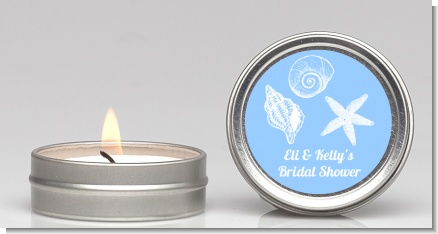 Sea Shells - Bridal Shower Candle Favors