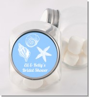 Sea Shells - Personalized Bridal Shower Candy Jar