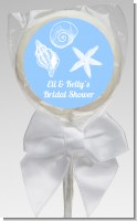 Sea Shells - Personalized Bridal Shower Lollipop Favors