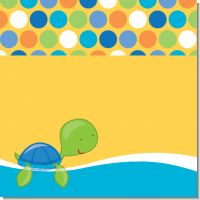 Sea Turtle Boy Baby Shower Theme