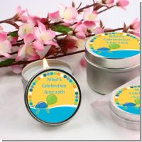 Sea Turtle Boy - Birthday Party Candle Favors