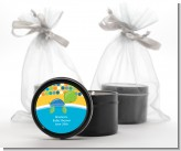Sea Turtle Boy - Baby Shower Black Candle Tin Favors