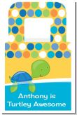 Sea Turtle Boy - Personalized Baby Shower Favor Boxes
