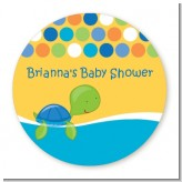 Sea Turtle Boy - Personalized Baby Shower Table Confetti