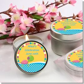 Sea Turtle Girl - Birthday Party Candle Favors