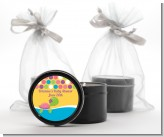 Sea Turtle Girl - Birthday Party Black Candle Tin Favors
