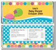 Sea Turtle Girl - Personalized Baby Shower Candy Bar Wrappers thumbnail