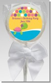 Sea Turtle Girl - Personalized Birthday Party Lollipop Favors