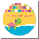 Sea Turtle Girl - Personalized Baby Shower Table Confetti