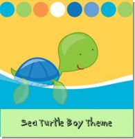 Sea Turtle Boy Birthday Party Theme