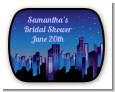 Sex in the City - Personalized Bridal Shower Rounded Corner Stickers thumbnail