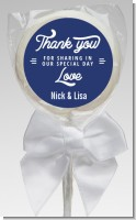 Sharing Our Day - Personalized Bridal Shower Lollipop Favors