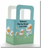 Sheep - Personalized Baby Shower Favor Boxes