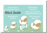 Sheep - Baby Shower Petite Invitations