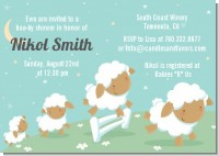 Sheep - Baby Shower Invitations