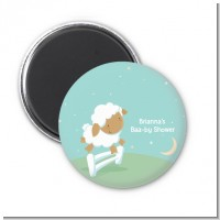 Sheep - Personalized Baby Shower Magnet Favors