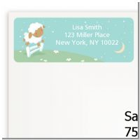 Sheep - Baby Shower Return Address Labels