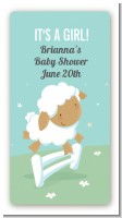Sheep - Custom Rectangle Baby Shower Sticker/Labels