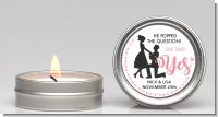 She Said Yes - Bridal Shower Candle Favors
