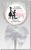 She Said Yes - Personalized Bridal Shower Lollipop Favors